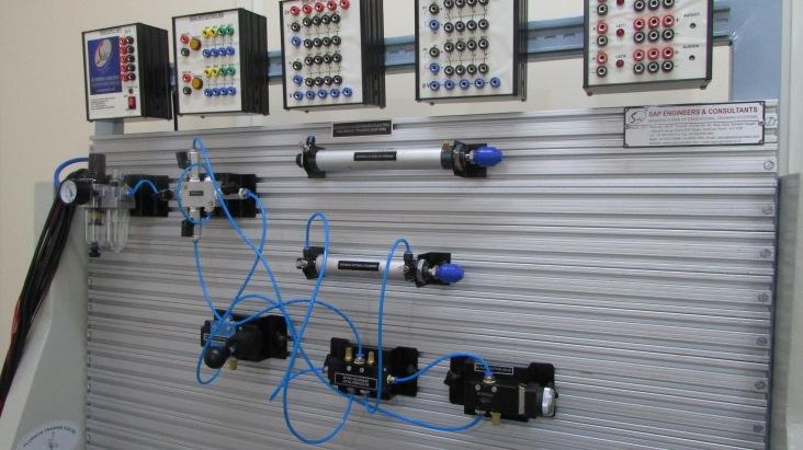Pneumatic trainer kit