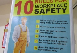Safety poster