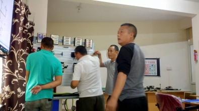 Hydraulic training for DHPC< Bhutan
